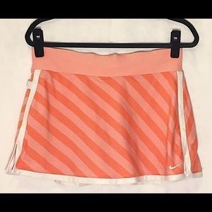 Nike Fit Dry skirt shorts peach orange white